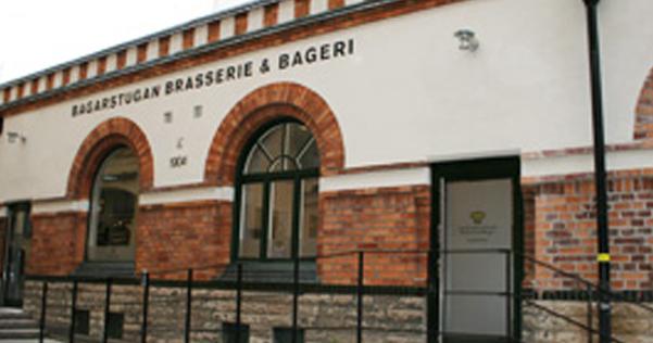 Bagarstugan brasserie och bageri fasad