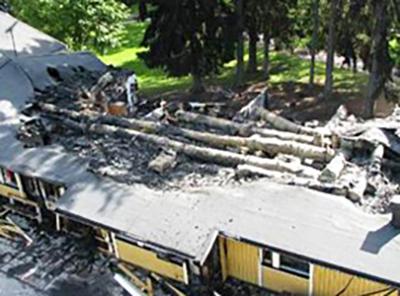 Återuppbyggnad av Folkparksskolan efter branden