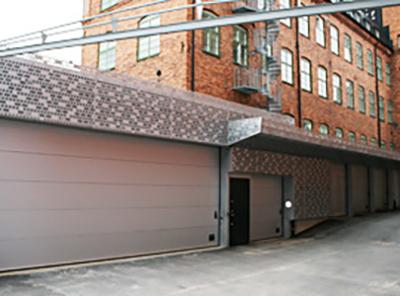 Garagebyggnad för SVT och Sveriges Radio