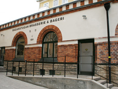 Bagarstugan Brasserie & Bageri fasad