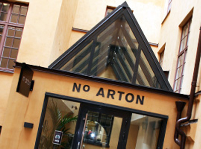 Butiken No Arton fasad