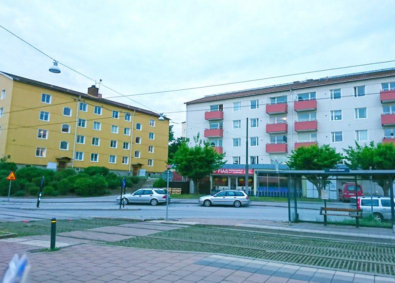 Omgivningsbild Hagagatan